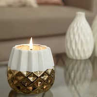 DecoFlair Geo-Mod Candle