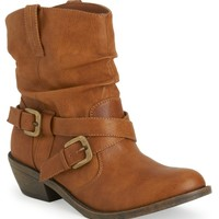 Western Buckle Boot