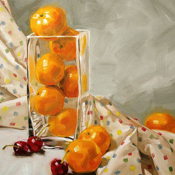Still life giclee on canvas print with gallery by FinnellFineArt