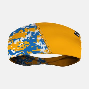 Arsenal Digi Camo Yellow Blue White Headband