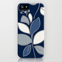 Florence: Navy Combo iPhone & iPod Case by Eileen Paulino