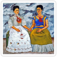 'frida kahlo' Sticker by c. elizabeth