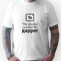 Atomic Symbol for Rapper Unisex T-Shirt