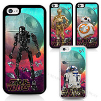 Star Wars BB-8 C-3PO R2-D2 K-2SO Rogue One Phone Case Cover For iPhone Samsung