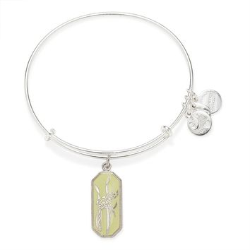 Warrior's Will Gladiolus Charm Bangle