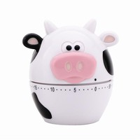 Joie MooMoo 60 Minute Mechanical Kitchen and Egg Timer - Cow Theme