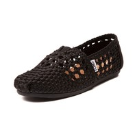 Womens TOMS Classic Satin Casual Shoe