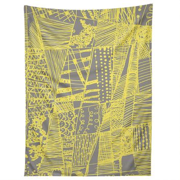 Rachael Taylor Abstract Doodle Tapestry