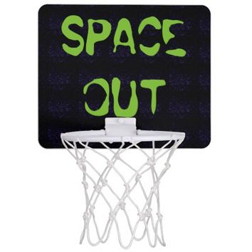 SPACE OUT MINI BASKETBALL HOOP