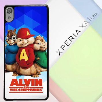 Alvin And The Chipmunks R0317 Sony Xperia XA1 Ultra Case
