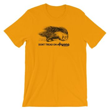 Don't Tread On Anyone Porcupine T-Shirt