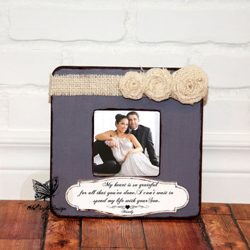 Wedding Gift for Parents Thank You Wedding Parents Gift Parents Thank You Gift Mother of Bride Father of Bride Mother of Groom Gift Frame