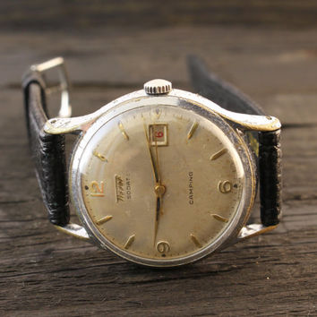 Vintage Tissot Visodate Camping mens watch swiss watch