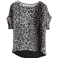 Giovanna Leopard Top
