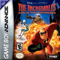 The Incredibles Rise of the Underminer - GameBoy Advance (Ugly Game Only)