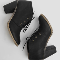 Penny Ankle Booties In Black By Restricted