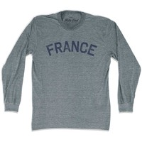 France City Vintage Long Sleeve T-shirt