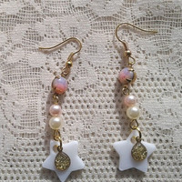 Sailor Moon Earrings - Princess serenity Earrings - Sailor Scout Jewelry