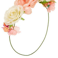 Rose Front Garland