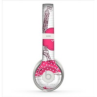 The Paris Pink Illustration Skin for the Beats by Dre Solo 2 Headphones