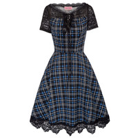 Luann plaid dress