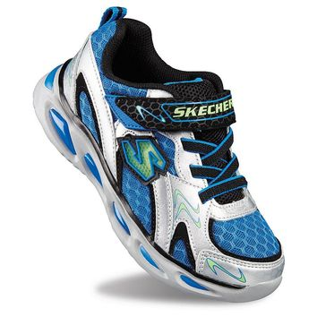 skechers ipox rayz boys 39 s lights light up athletic shoes more. Black Bedroom Furniture Sets. Home Design Ideas