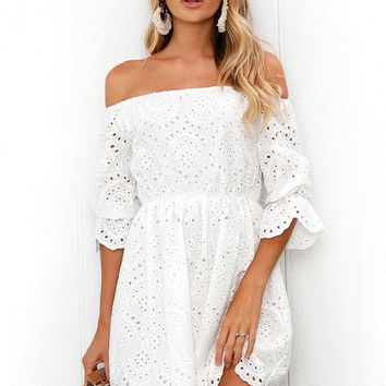 Valentine Dress WHITE