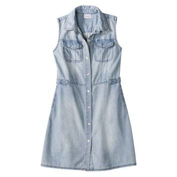 Mossimo Supply Co. Juniors Sleeveless Denim Dress - Assorted Colors