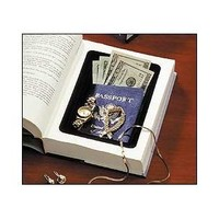 2 Pack of Book Safes, Diversion Safes made with Real Books