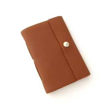 Brown Leather Journal Pocket Sized Book Small Sketchbook Mini Journal Leather Notebook Small Journal 3rd Anniversary Gift Leather Sketchbook
