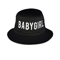 Babygirl Black Bucket Hat