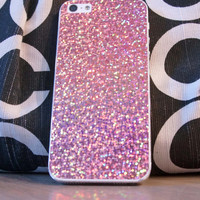 Sparkly Phone cover for a iphone 5s, Protector, Case, Scratch Protector