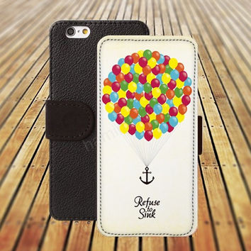 iphone 5 5s case Anchor Encourage UP iphone 4/ 4s iPhone 6 6 Plus iphone 5C Wallet Case , iPhone 5 Case, Cover, Cases colorful pattern L087