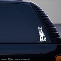 German Shepherd Dog vinyl decal small