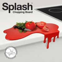 Blood Splash Chopping Board