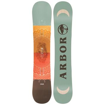 Arbor Cadence Snowboard - Womens page.year