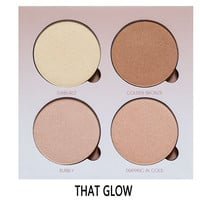 BRAND NEW High quality ANASTA GLOW KIT GLEAM or THAT GLOW Powder contour kit Makeup Bronzer&Highlighter free shipping
