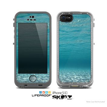 The Under The Sea V3 Scenery Skin for the Apple iPhone 5c LifeProof Case