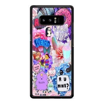 Good Vibes Samsung Galaxy Note 8 Case