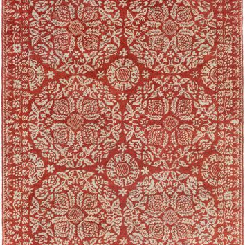 Surya Smithsonian Medallions and Damask Red SMI-2154 Area Rug