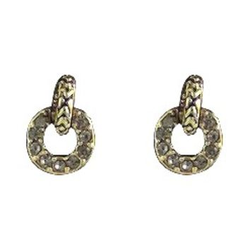 House of Harlow 1960 Jewelry Eternal Link Door Knocker Earring