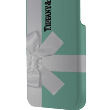 Best 3D Full Wrap Phone Case - Hard (PC) Cover with Tiffany and Co Gift Packing Design