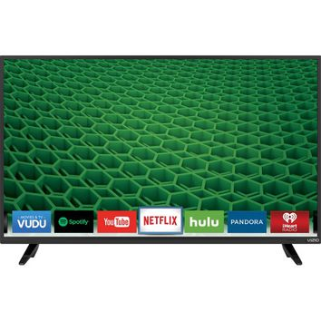 "VIZIO - D-Series 39"" Class (38.5"" Diag.) - LED - 720p - Smart - HDTV - Black"