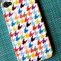 Multicolor Houndstooth iPhone 5 Case
