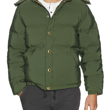 Free City Men's Ogdove Hardshell Puffy Jacket - Green -
