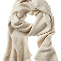 Banana Republic Todd & Duncan Plaited Cashmere Scarf Size One Size - Blushing pink