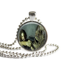 The Walking Dead Maggie Necklace Handcrafted Silver Plated Pendant
