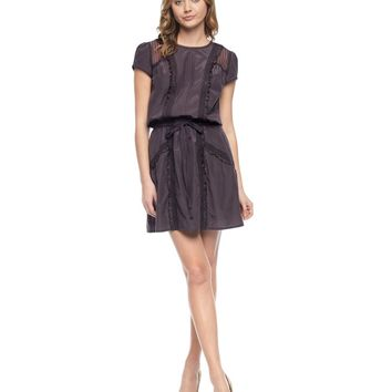 Cotton Silk Voile With Lace Dress by Juicy Couture