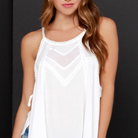 Meadowlark Ivory Lace Top