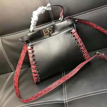 Excellent Quality, FENDI Two-Color Optional Bag Handbag Shoulder Bag